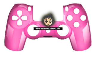 Polished Pink PS4 Controller