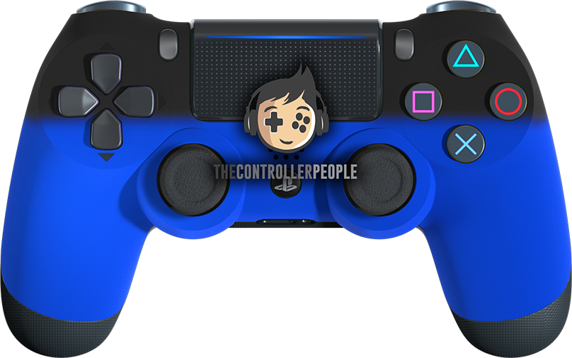 Blue Shadow PS4 Controller