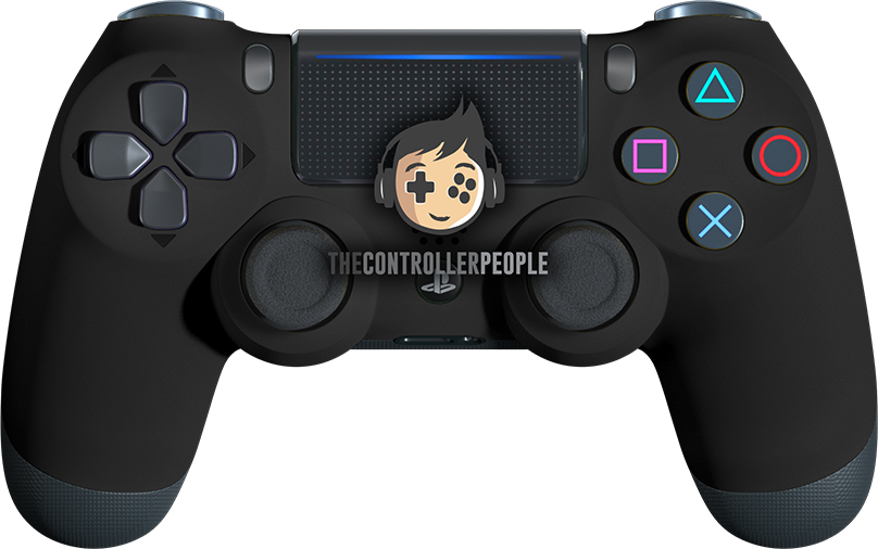 Super Soft Black PS4 Controller